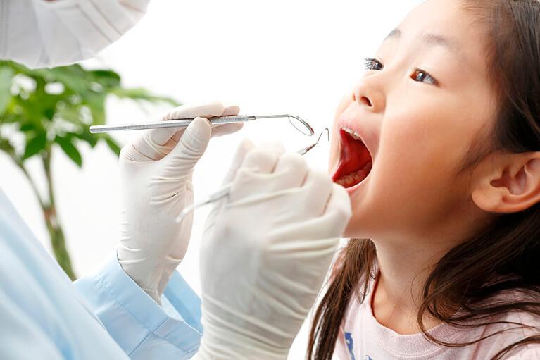 歯医者嫌いにしない診療を心がけています