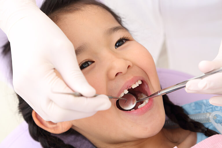 子どもの歯科予防にも力を入れています