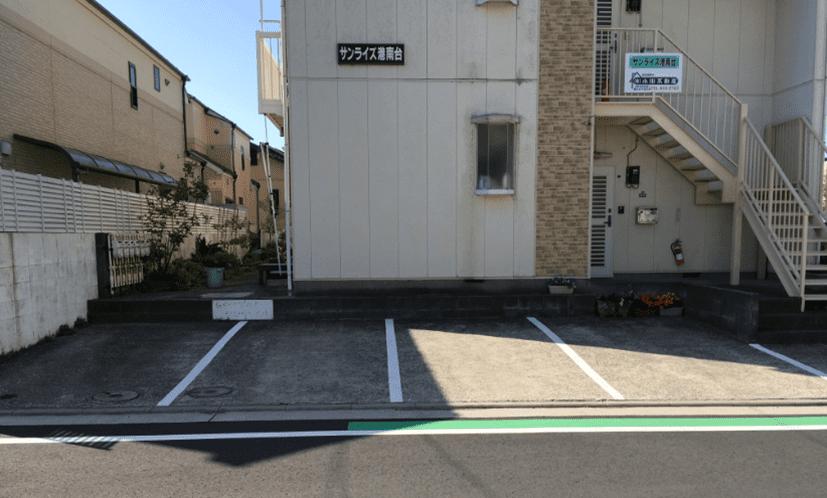 駐車スペースについて